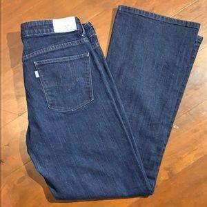 Levi Dark Wash Bootcut Jeans